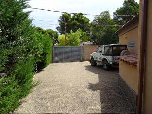 Extérieur - portail parking voiture